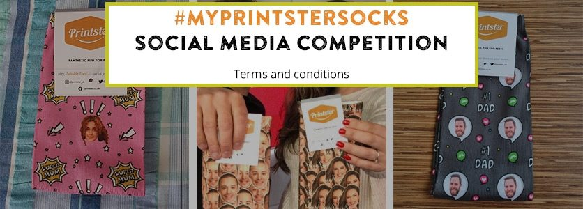 #MyPrintsterSocks Competition Terms & Conditions